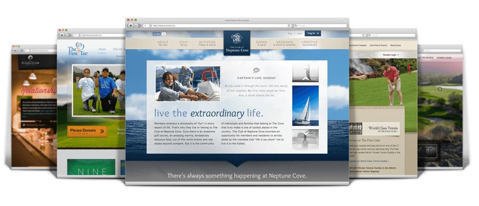 Web design online marketing for clubs membersfirst for Web based home design